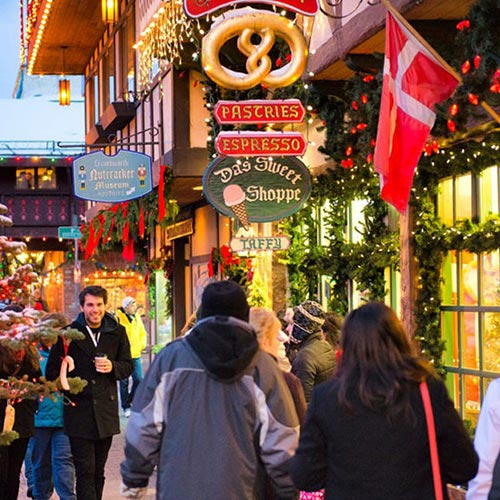 Bavarian Christmas Market Leavenworth