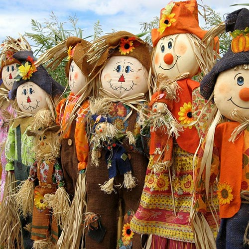 Scarecrows and Pumpkins Shop Hop